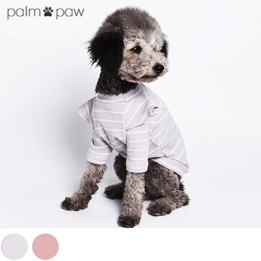 Ruffle Sleeve Dog T-shirt - Palm Paw