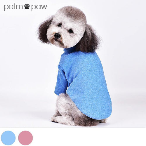 Stand Collar Dog T-shirt - Palm Paw