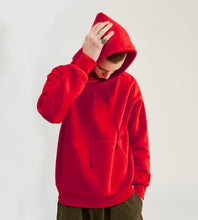 Load image into Gallery viewer, Matching Dog and Human Drawstring Fleece-Lined Hoodie - Palm Paw