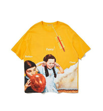 Load image into Gallery viewer, Kids' Fun Graphic Oversized Short Sleeve T-shirt - Palm Paw