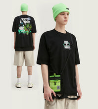 Load image into Gallery viewer, Cactus Graphic Oversized Short Sleeve T-shirt - Palm Paw