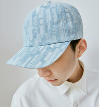 Load image into Gallery viewer, Light Wash Denim Strapback Hat Adjustable - Palm Paw