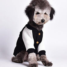 Load image into Gallery viewer, Black Vintage Dog Varsity Jacket - Palm Paw