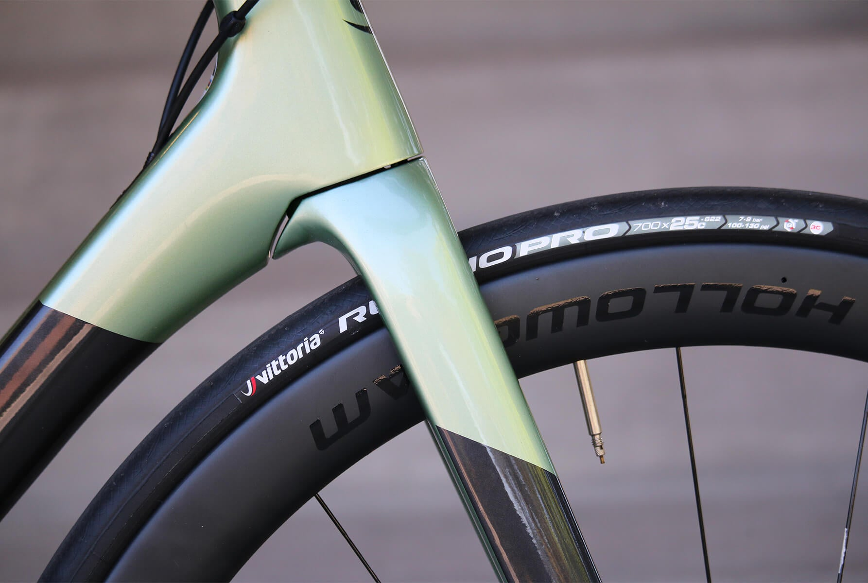 2020 Cannondale SuperSix EVO Fork/Headtube Junction - Contender Bicycles