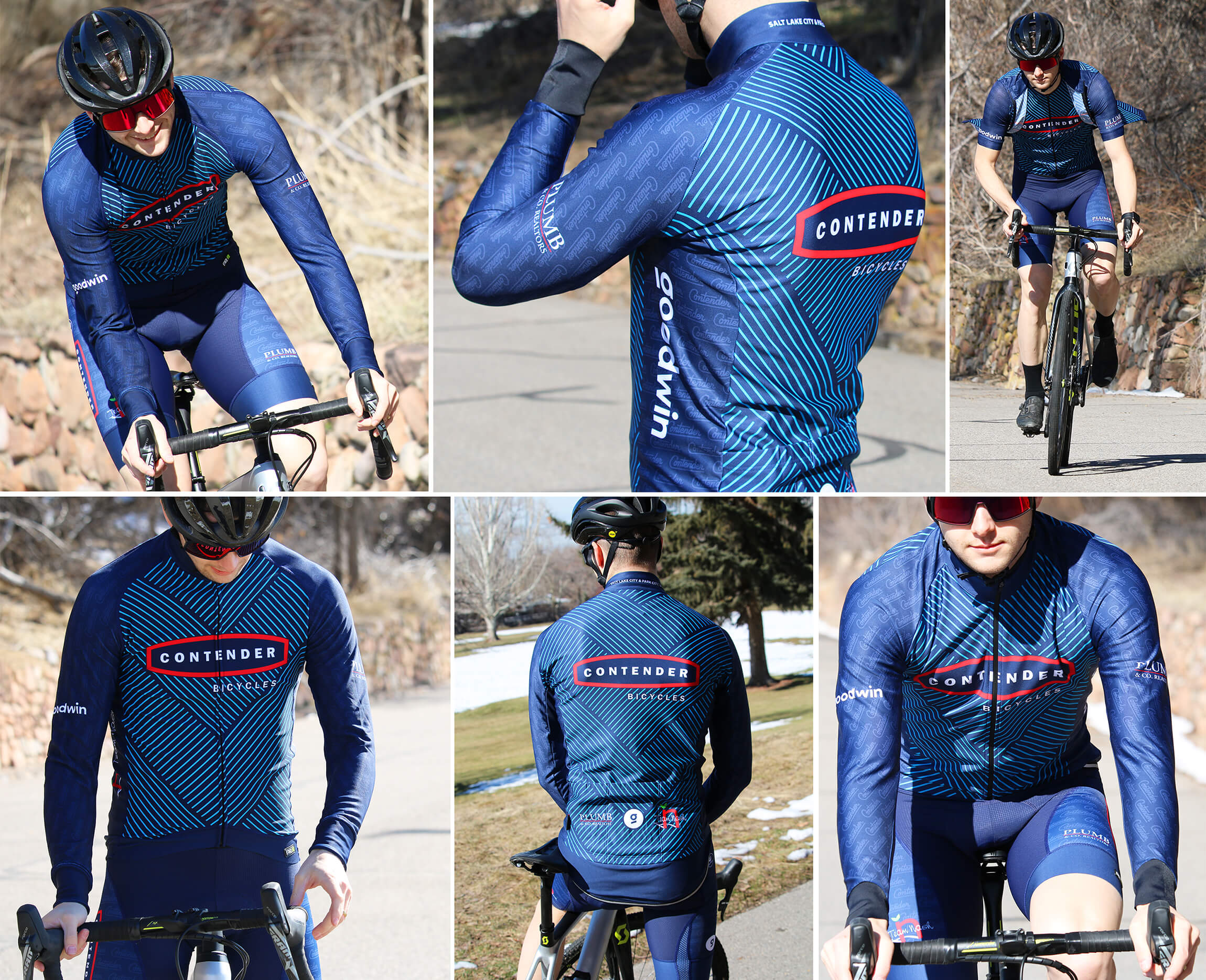 2020 Contender Bicycles Club Clothing Kit - Details