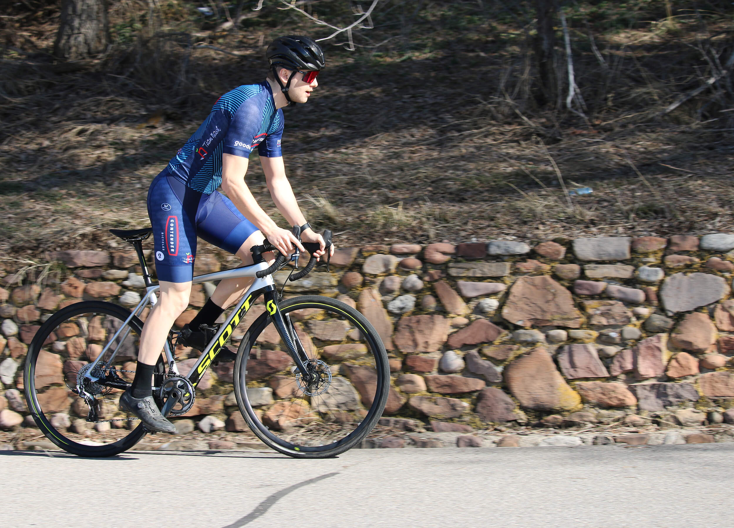 2020 Contender Bicycles Club Clothing - Riding