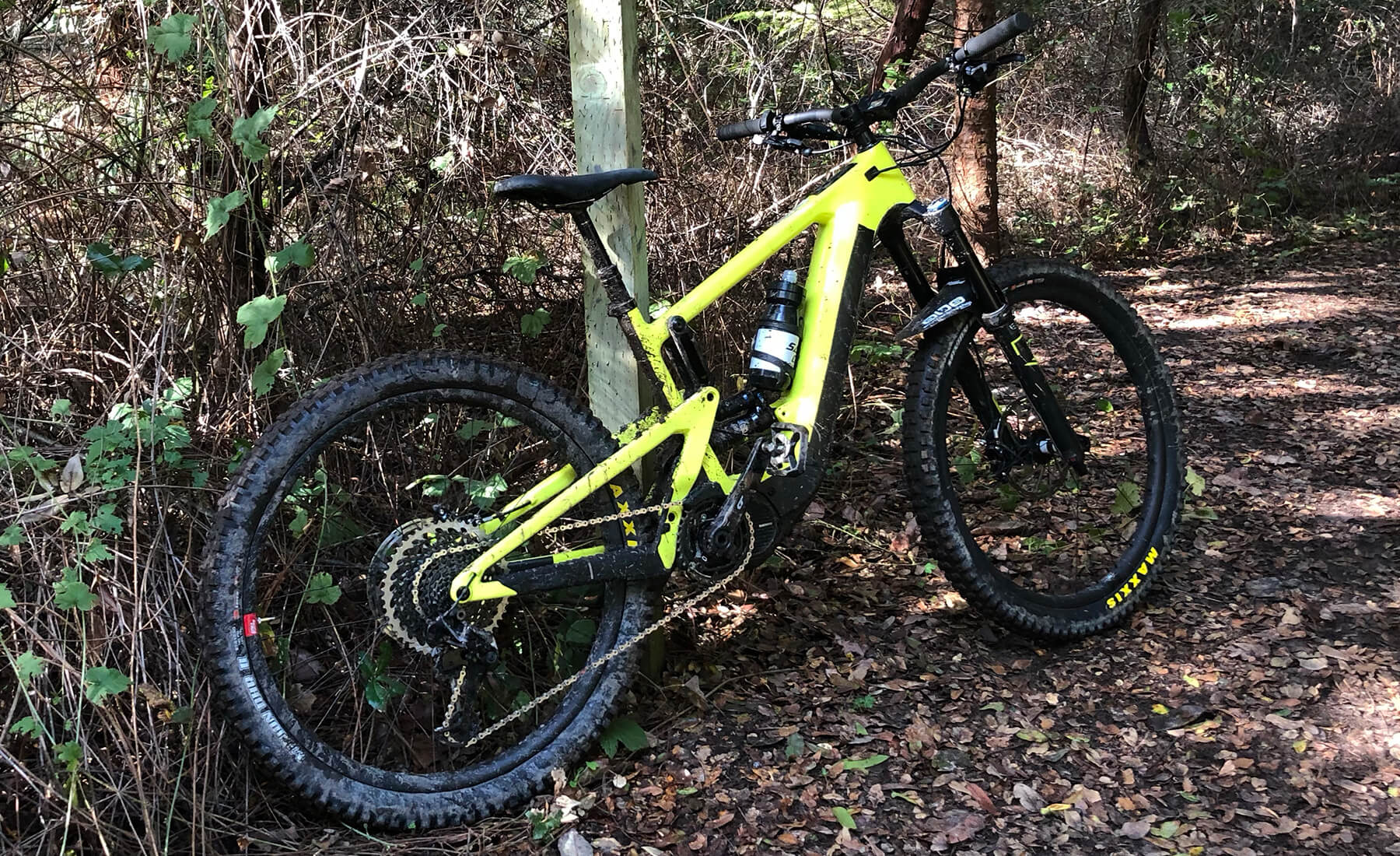 2020 Santa Cruz Heckler E-MTB Electric - Contender Bicycles