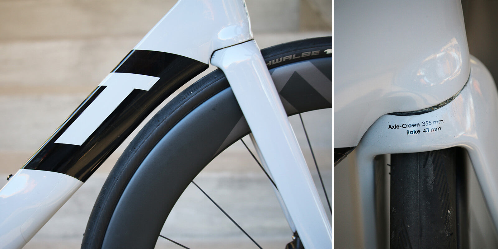 3T Strada Due Downtube - Contender Bicycles