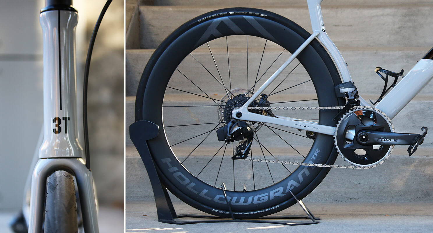 3T Strada Due Tire Clearance - Contender Bicycles