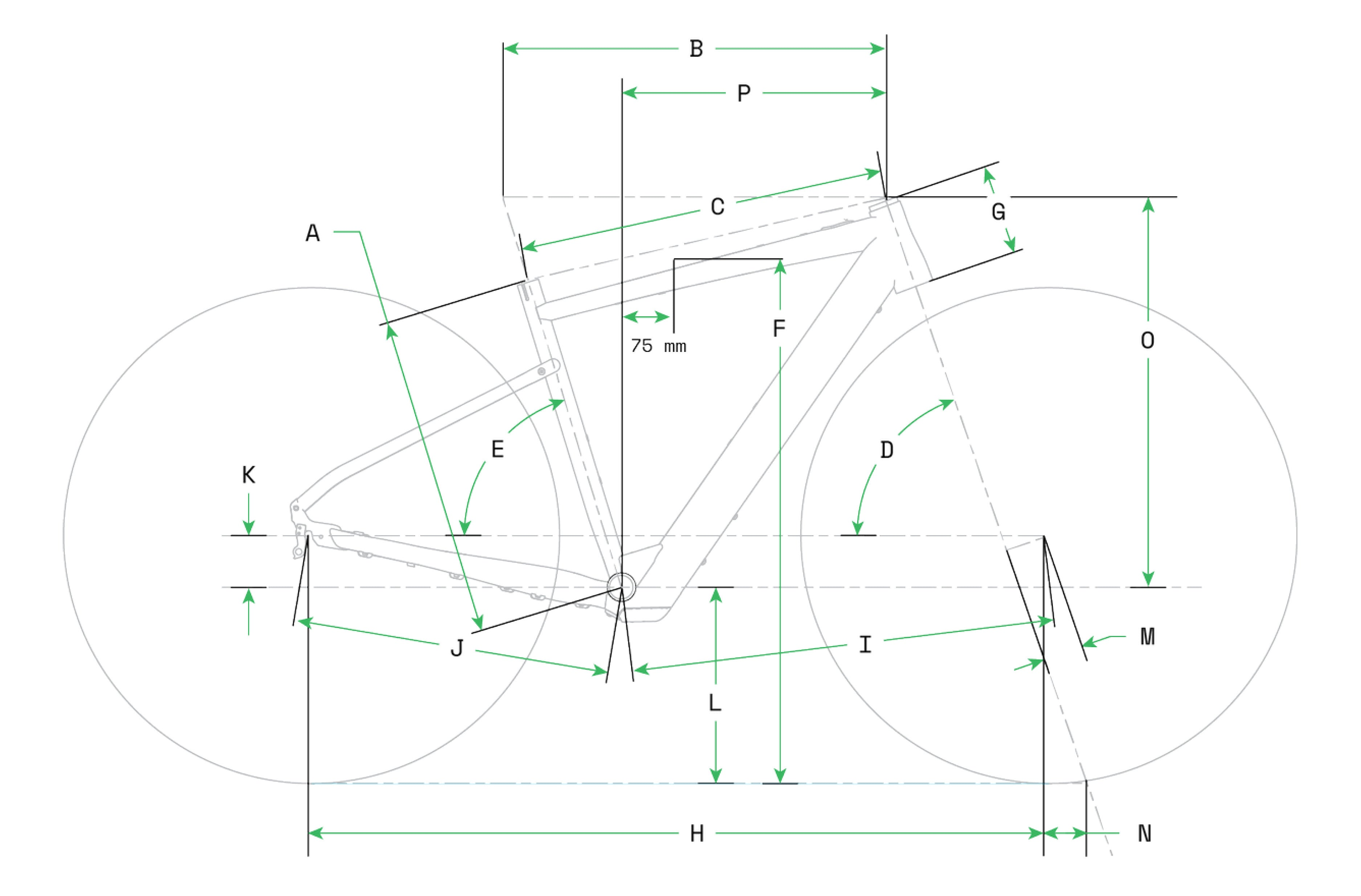 Cannondale Topstone neo SL Geometry Table