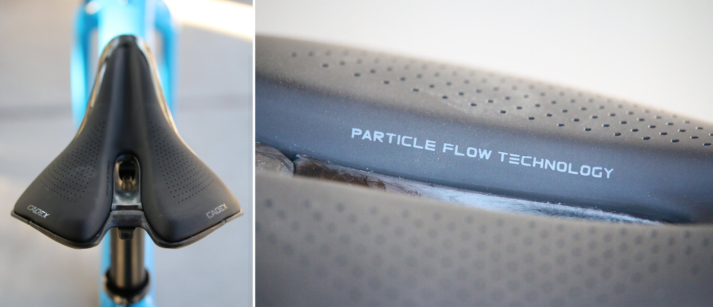 CADEX Boost Saddle - Particle Flow Technology
