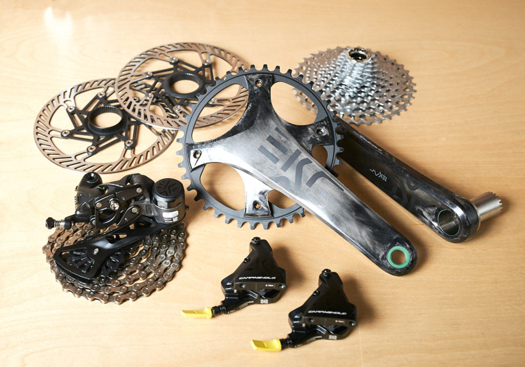 Campagnolo classic design frame protection kit