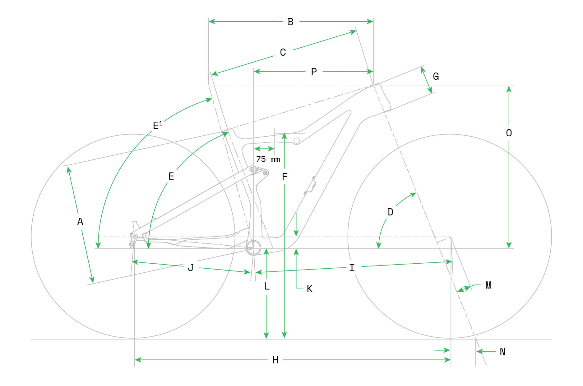 Cannondale Scalpel SE Geometry Image