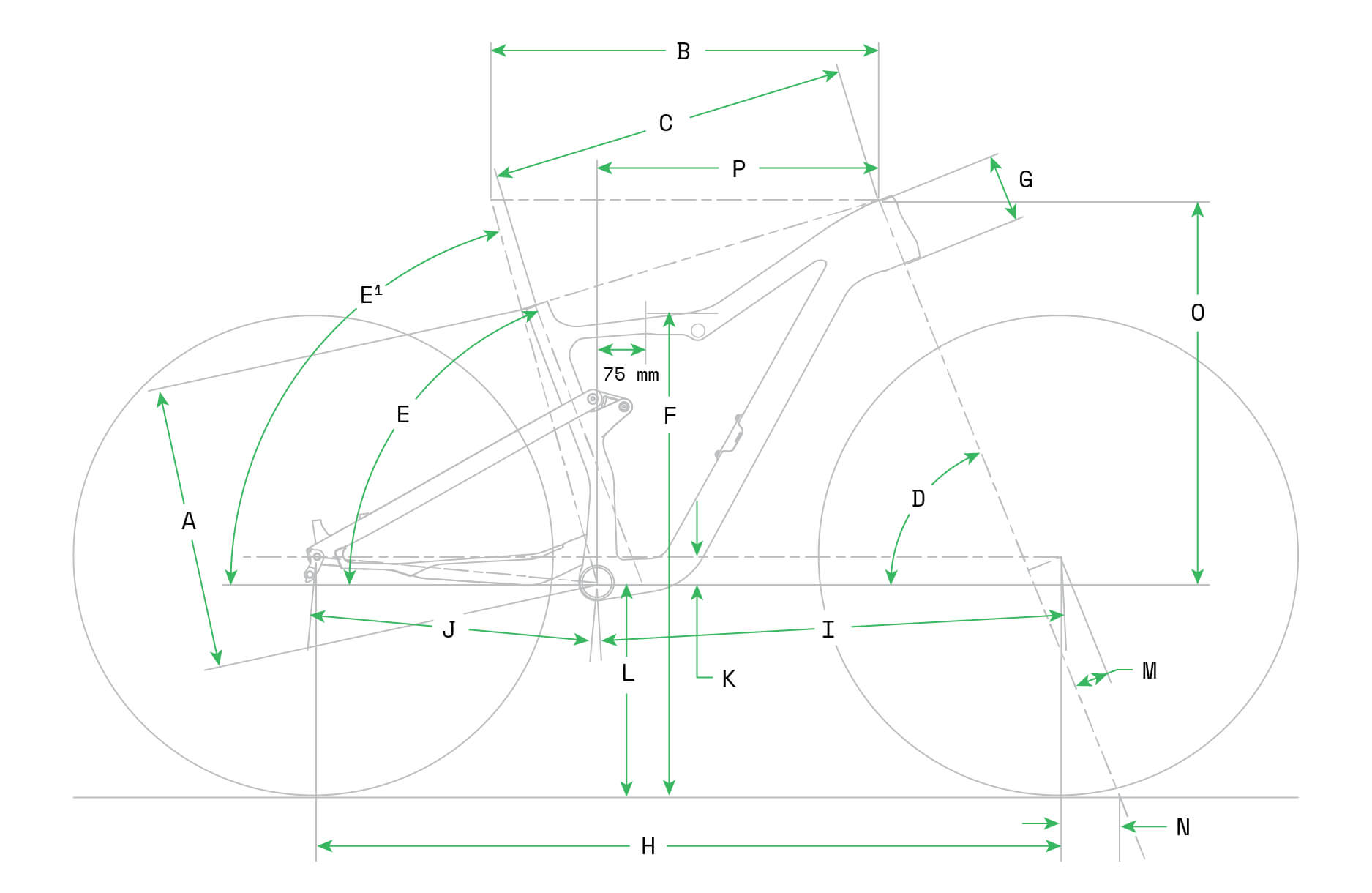 Cannondale Scalpel Geometry Image