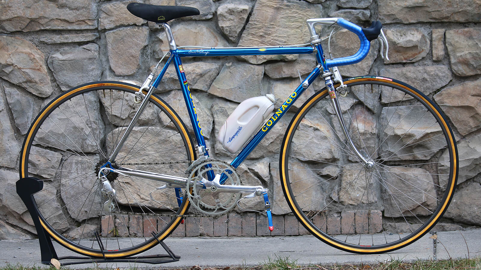 Vintage Blue Colnago Road Bike - Contender Bicycles
