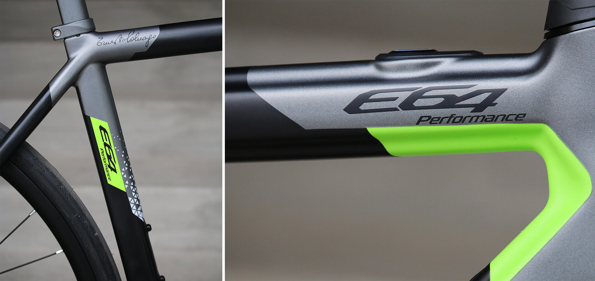 Colnago E64 Details - Contender Bicycles