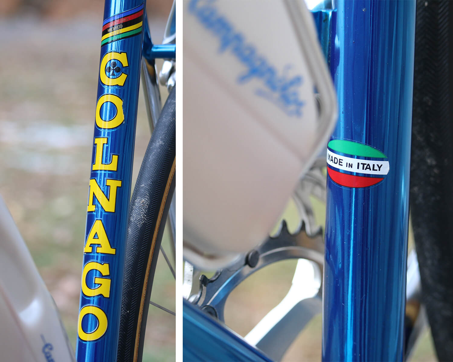 Colnago Vintage Road Bike Blue - Contender Bicycles