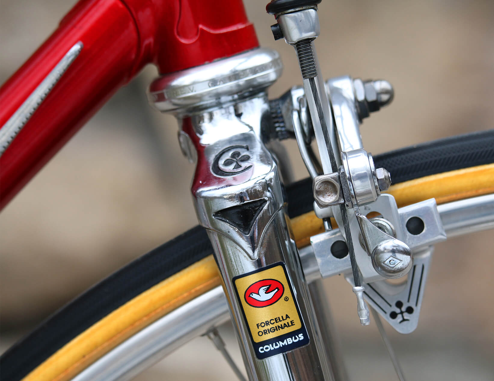 Colnago Vintage Road Bike - Columbus Fork - Contender Bicycles