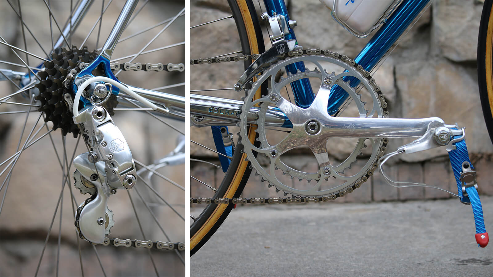 Vintage Colnago Road Bike Crankset - Contender Bicycles