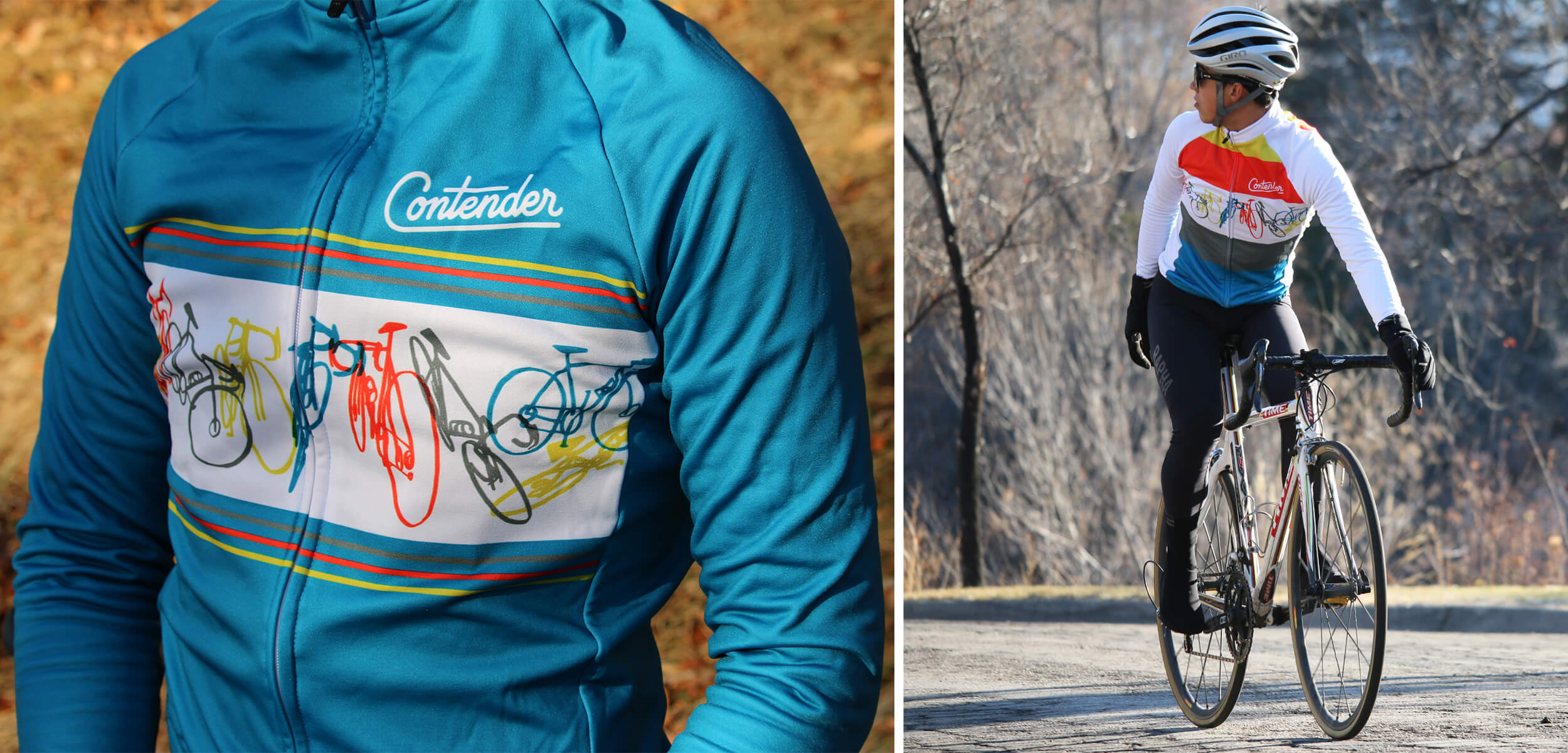 Contender Bicycles x Leo Espinosa Cycling Jersey