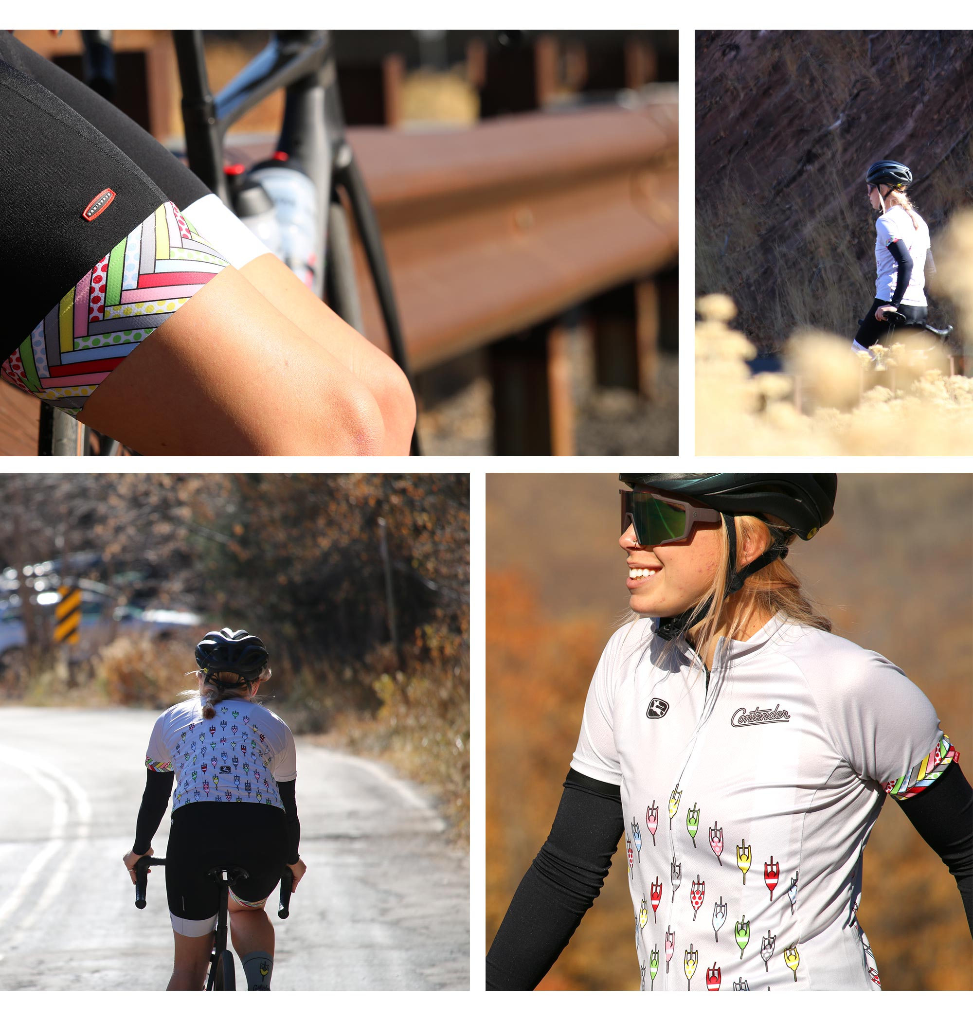 Contender Cyclist Kit Collage