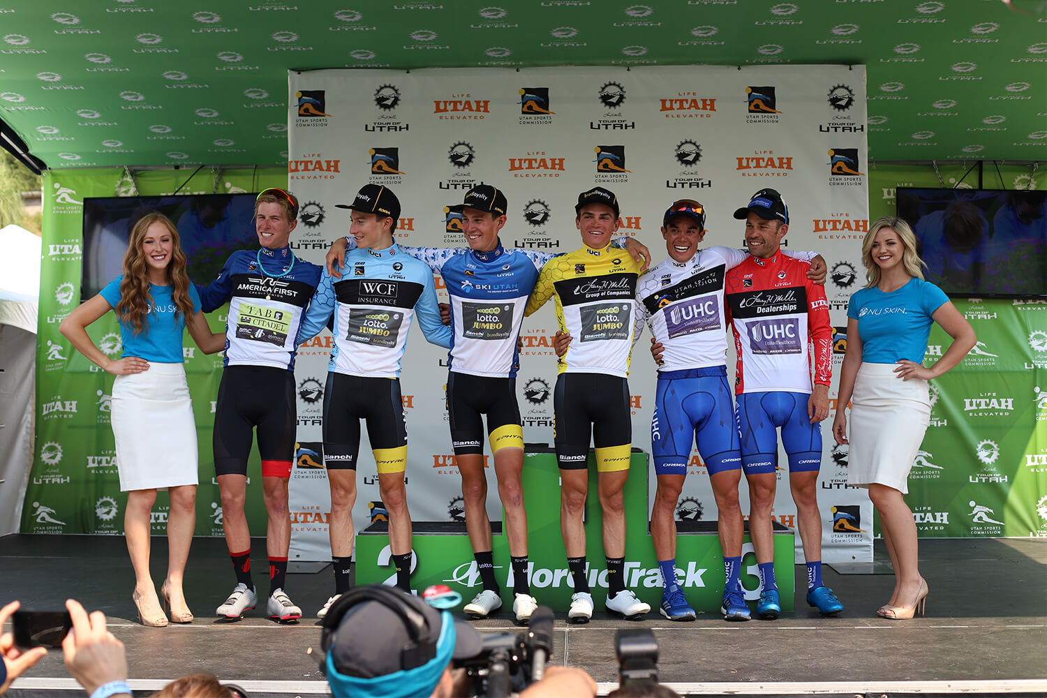 Contender Salt Lake City Stage Tour of Utah 2018 Finish riders classifications