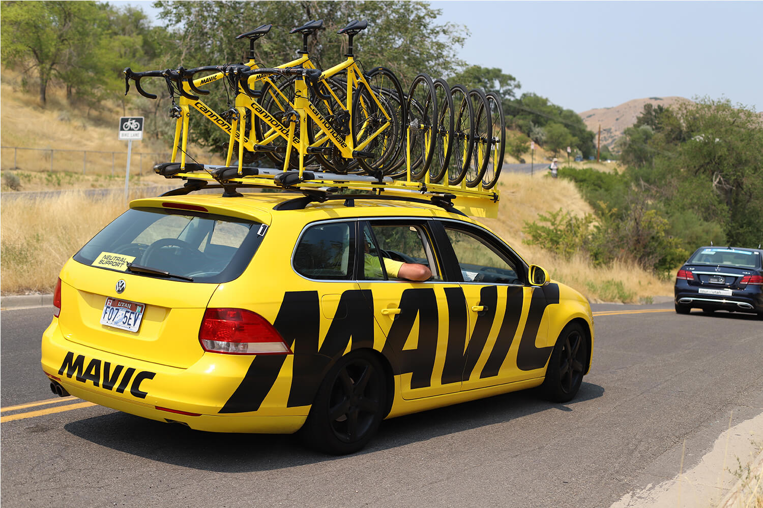 Contender Salt Lake City Stage Tour of Utah 2018 Mavic Neutral Support Car City Creek Canyon