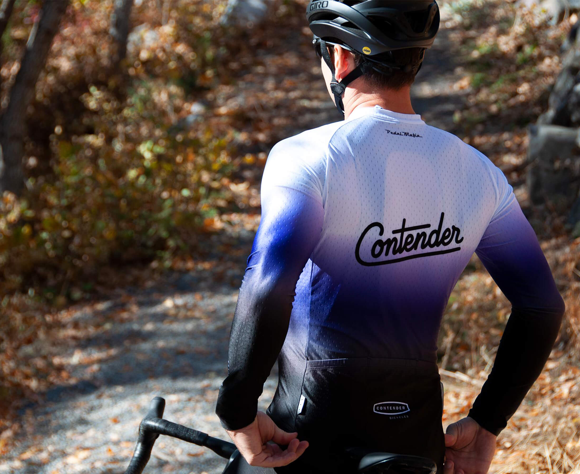 ContenderXPedal Mafia Jersey Details - Contender Bicycles
