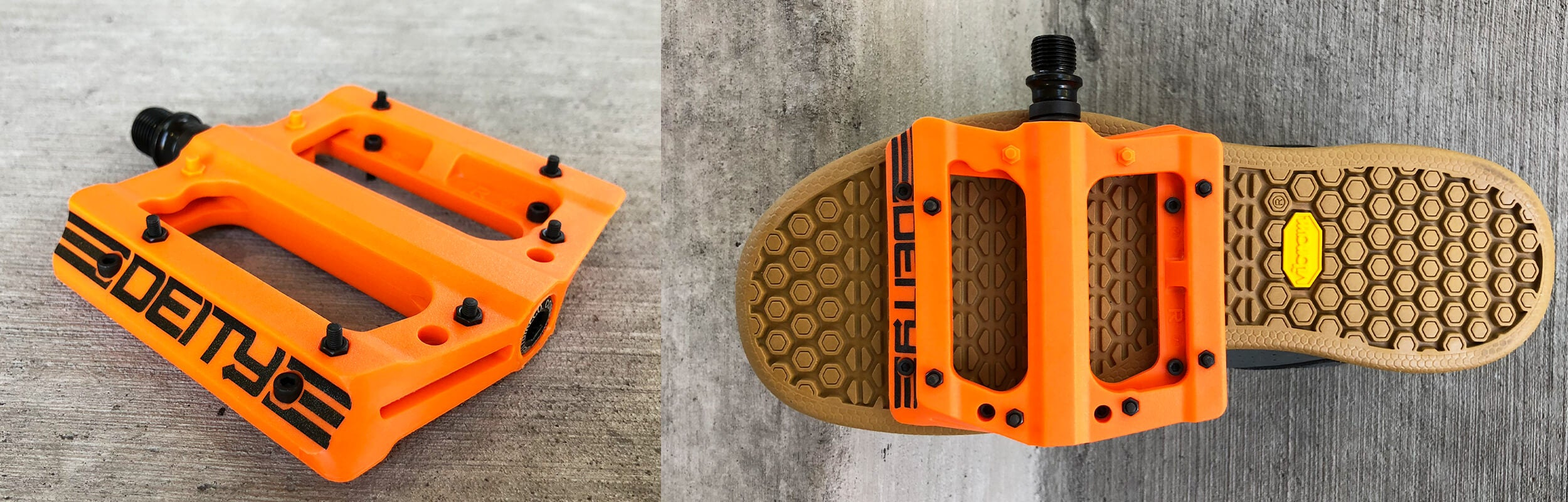 Deity Flat Pedals - Contender Bicycles