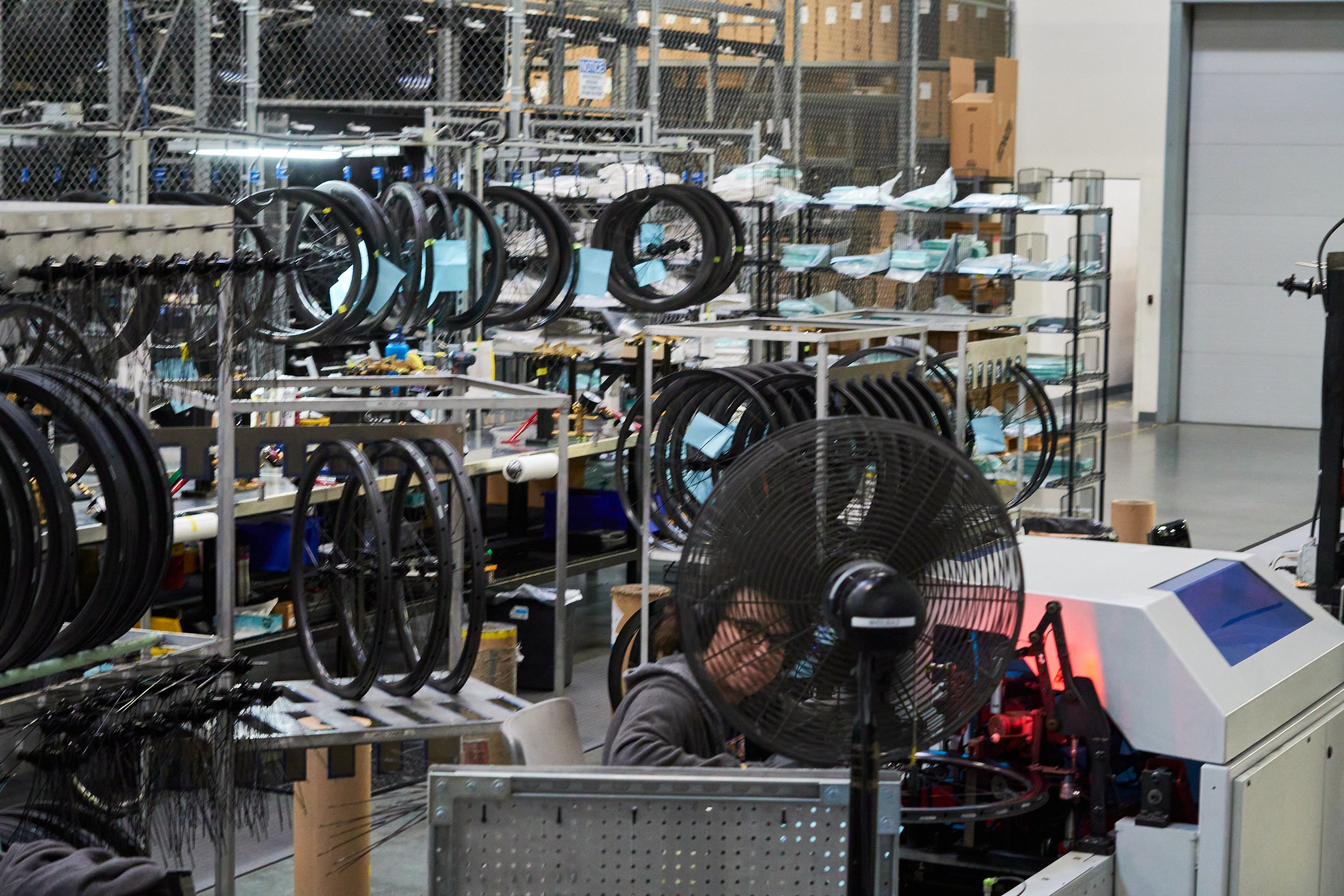 ENVE Factory tour with Contender Bicycles - final manufacturing