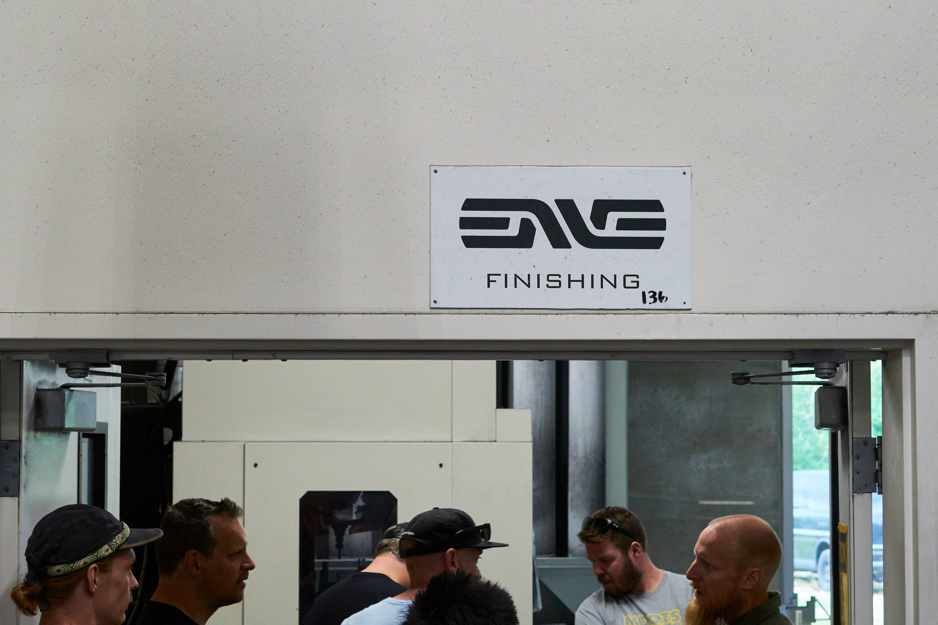 ENVE Factory tour with Contender Bicycles - finishing area