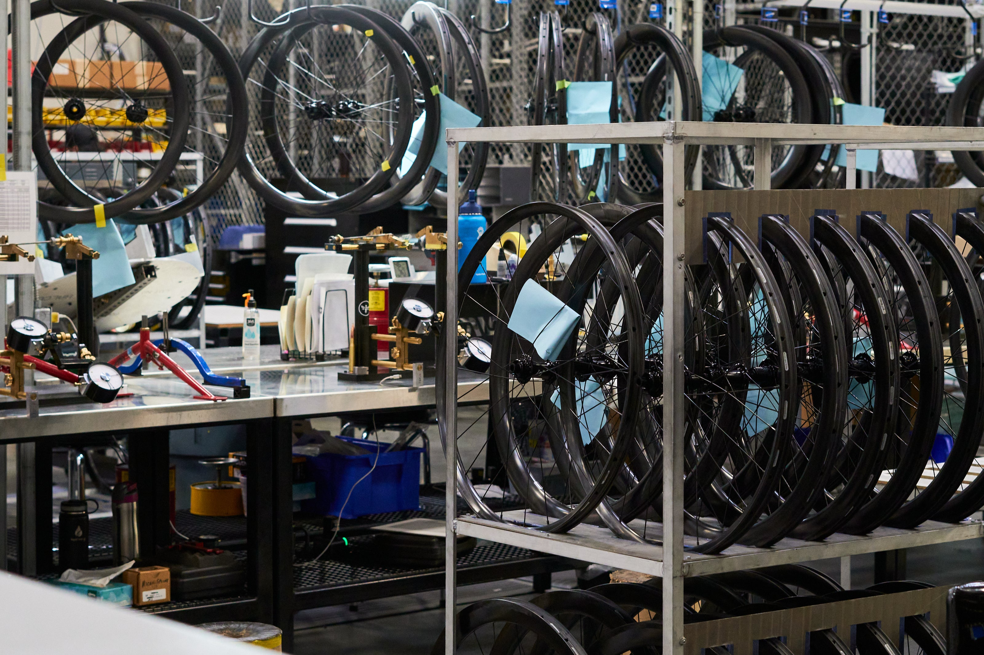 ENVE Factory tour with Contender Bicycles - wheel building