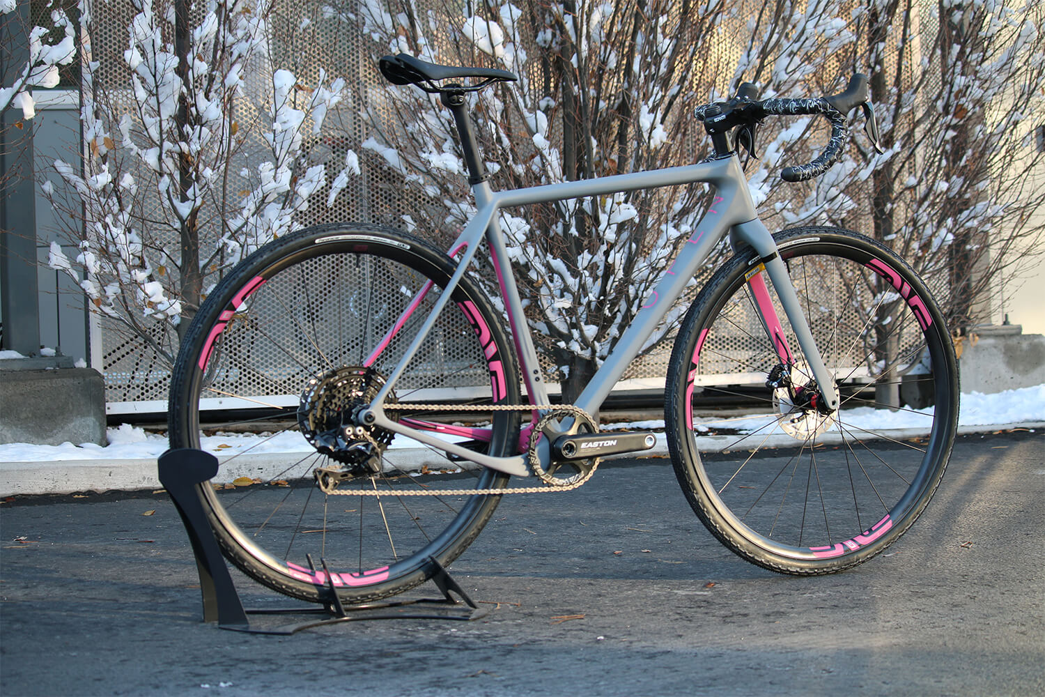 Ernie OPEN UP Pink Panther rear side blog