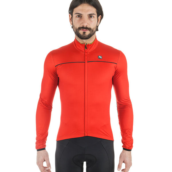 Giordana Fusion Lightweight Jacket Red front