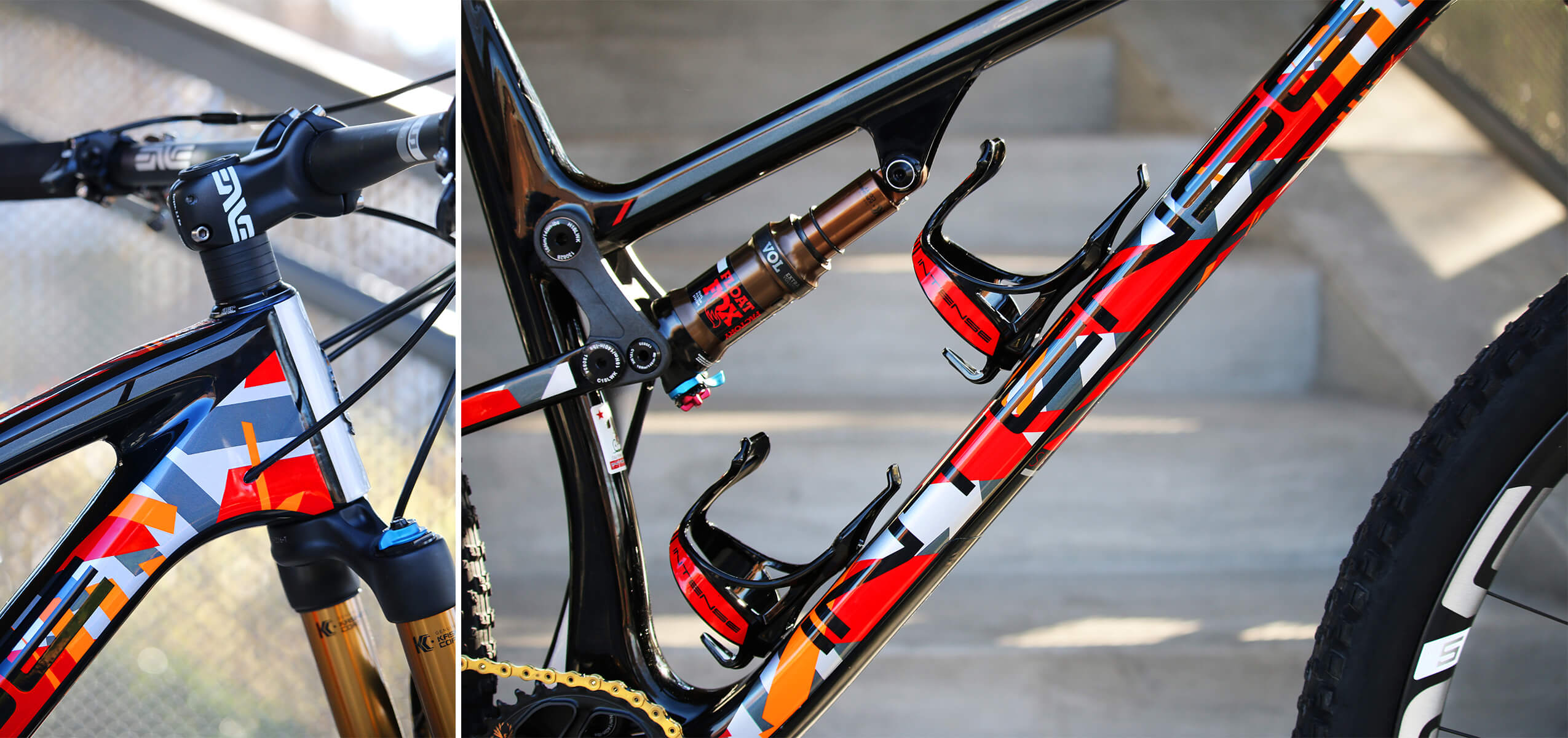 Intense Cycles JS Tuned Suspension Contender Bicycles