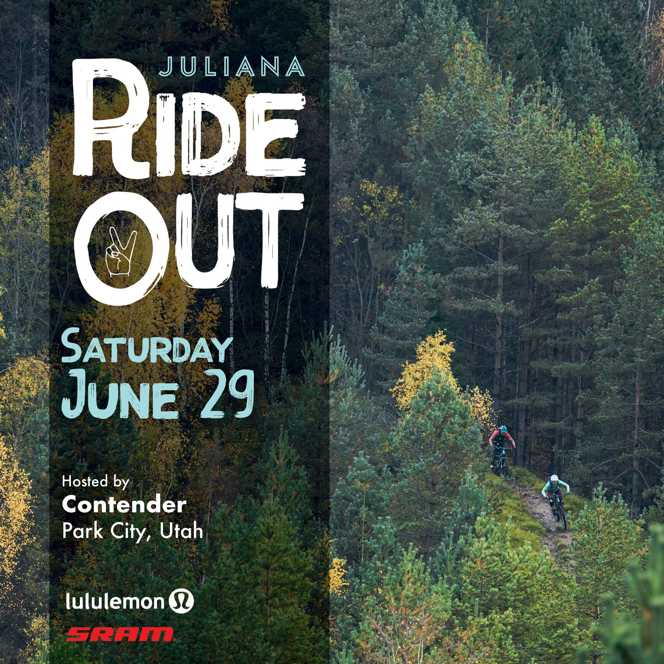 Juliana Ride Out Event Contender Bicycles