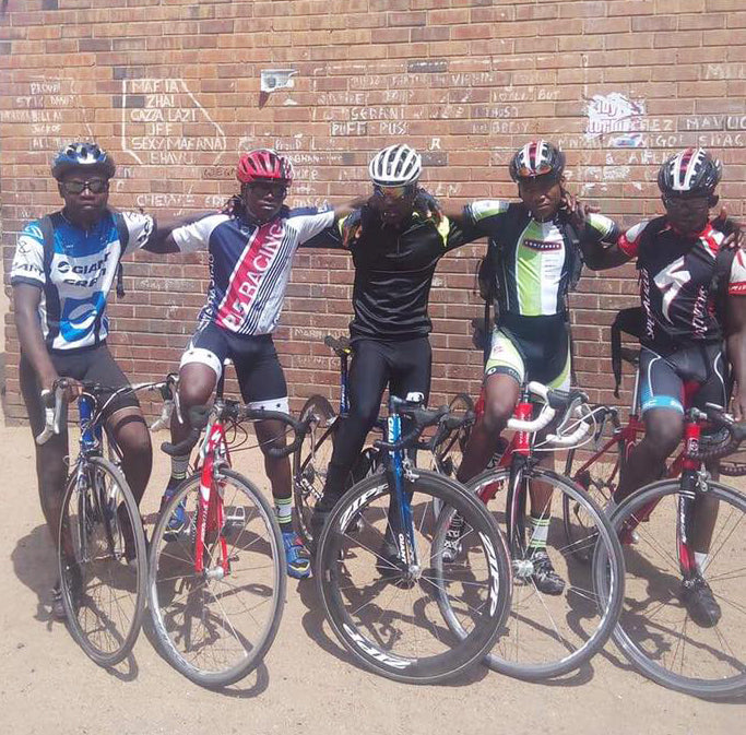 Kit Up Africa. Contender Bicycles.