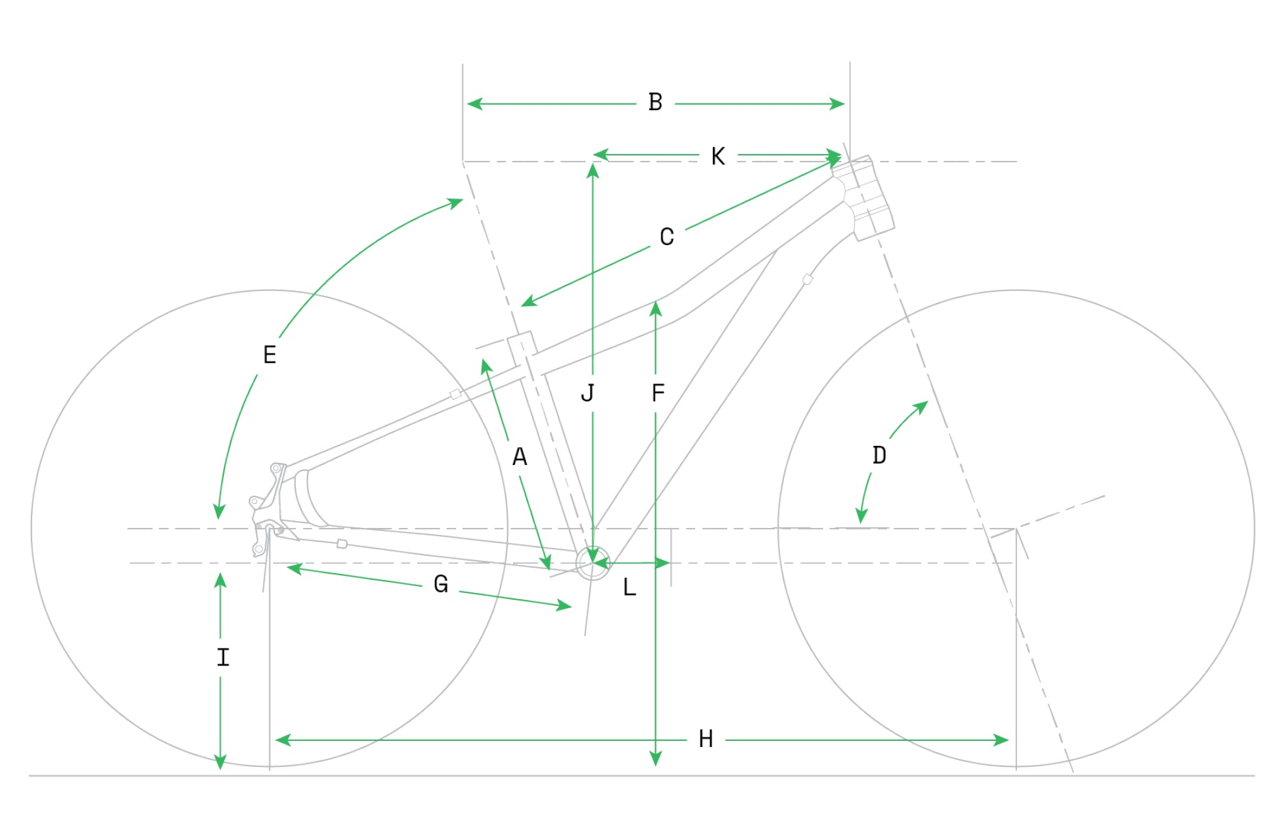 Cannondale Quick Kids Geometry Image