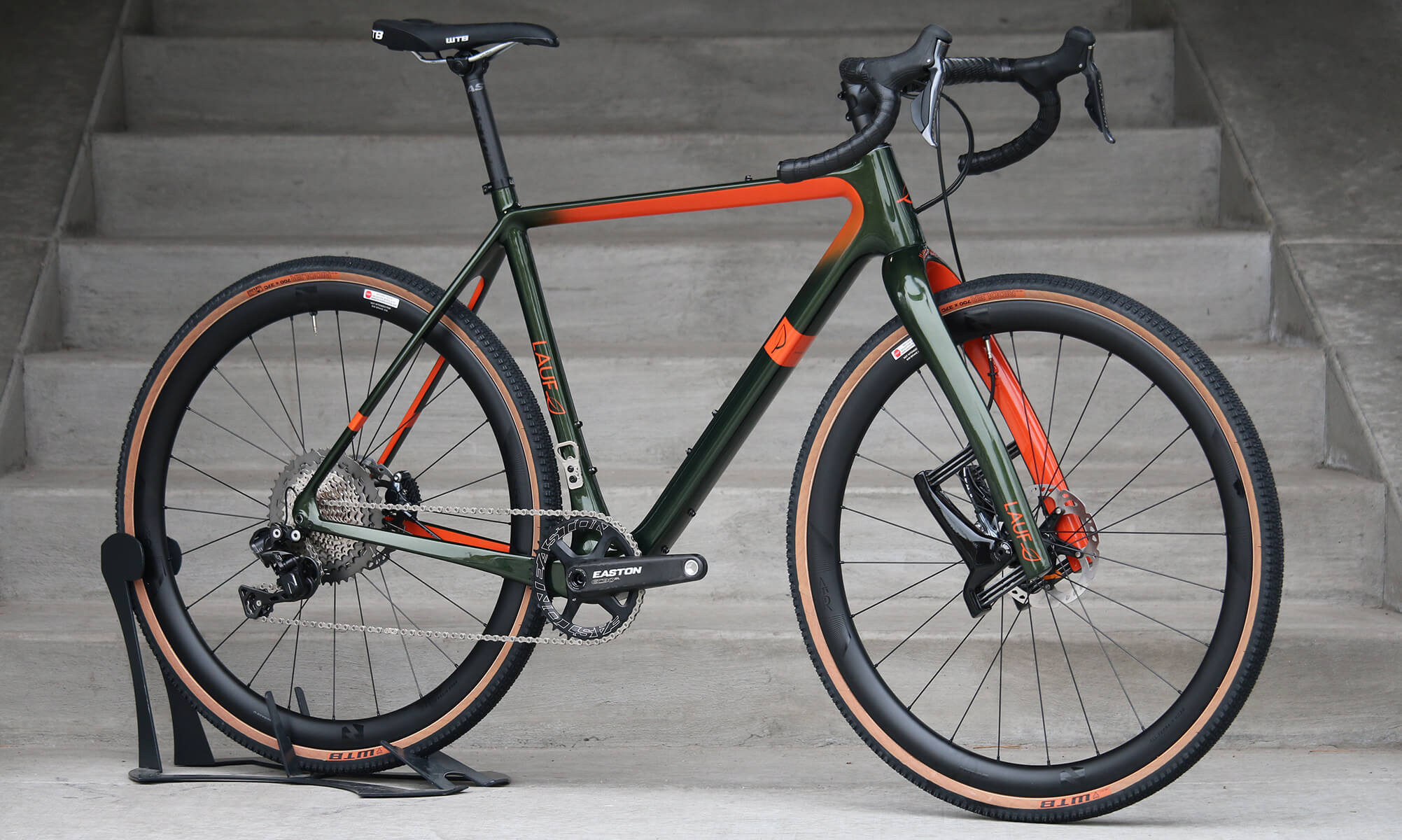 Lauf True Grit Gravel Bike - Suspension Fork - Ready to Paint - Contender Bicycles