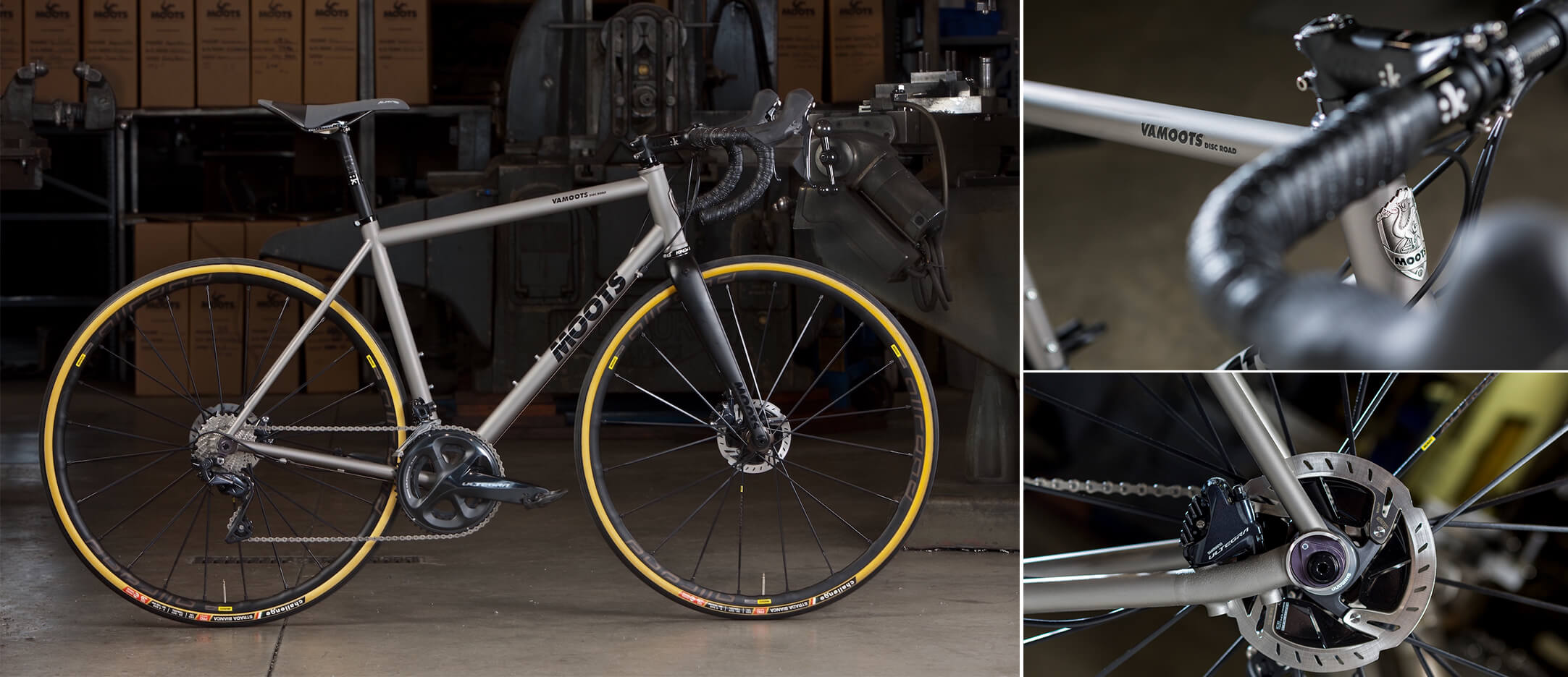 Moots Vamoots Disc Road DR - Contender Bicycles