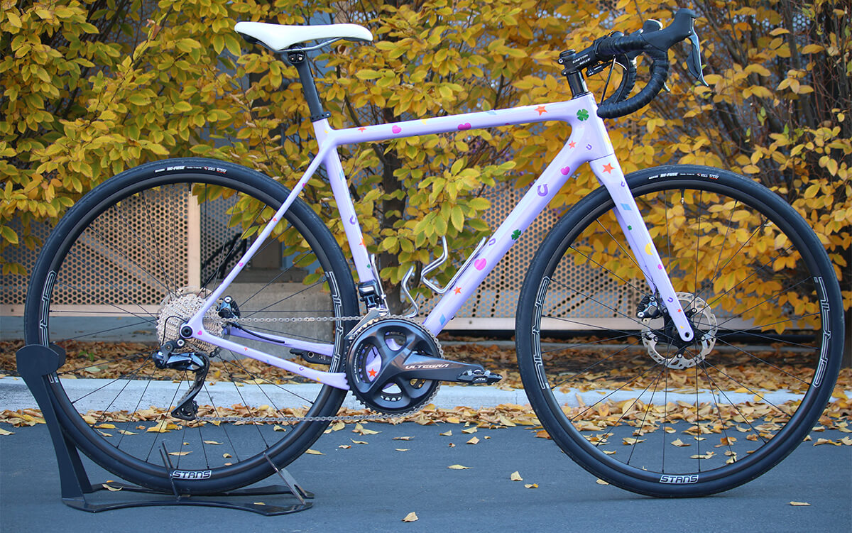 OPEN Cycle U.P. Ready To Paint - Lucky Charms. Contender Bicycles