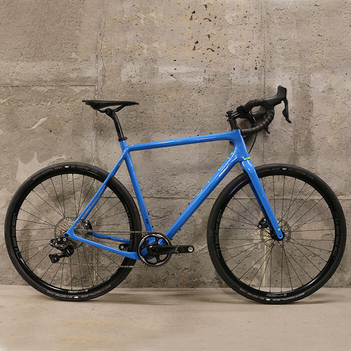 Open U.P. Unbeaten Path Ultegra Complete Bike Blue