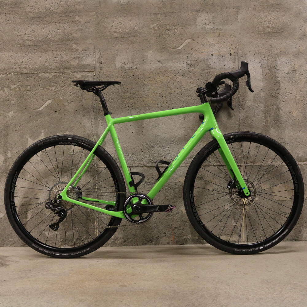 Open U.P. Unbeaten Path Ultegra Complete Bike Green