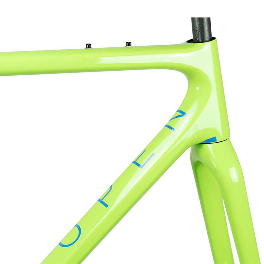 2018 OPEN U.P. Unbeaten Path Gravel Frameset Green