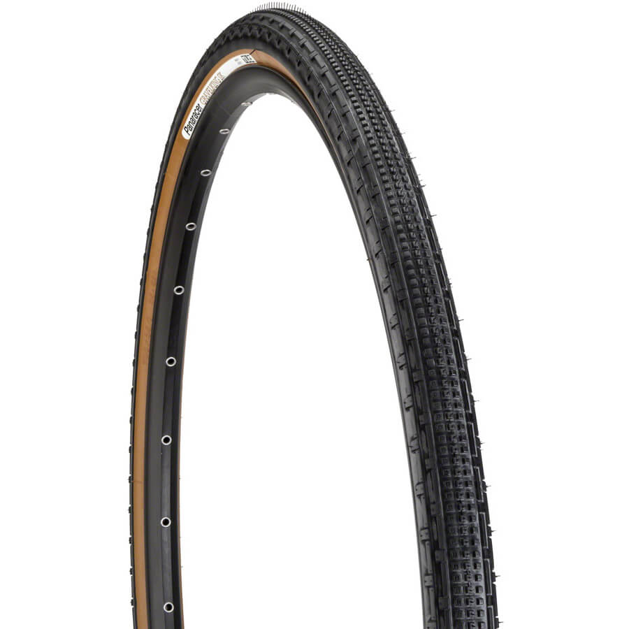 Panaracer Gravelking SK Brown Sidewall front side profile