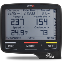 SRM PowerControl8 (PC8) Computer Black