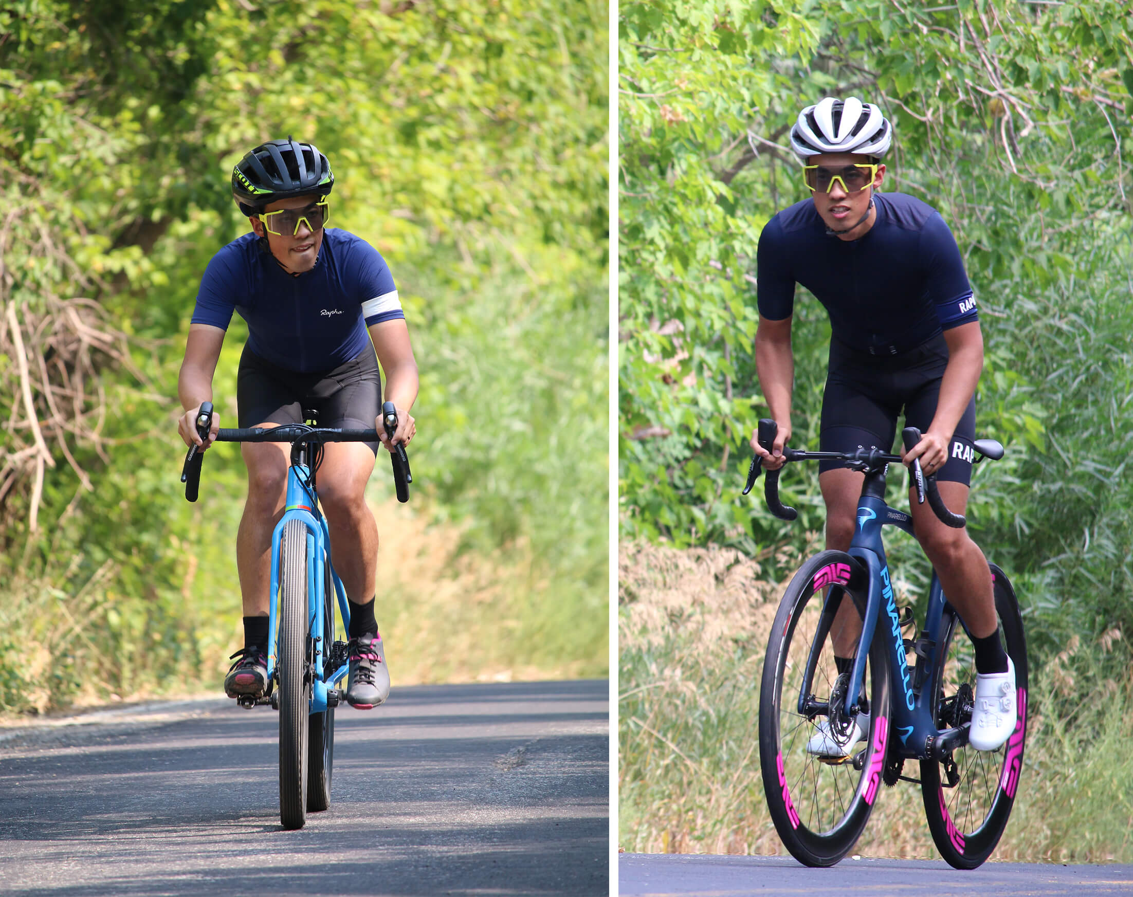 Rapha Core vs Team - Contender Bicycles