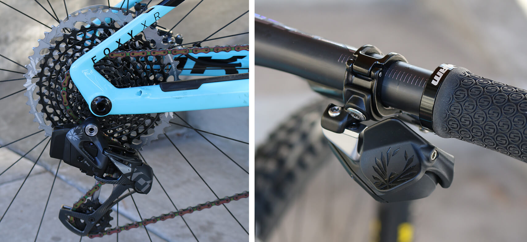 SRAM Eagle X01 AXS Wireless Controller and Rear Derailleur - Contender Bicycles