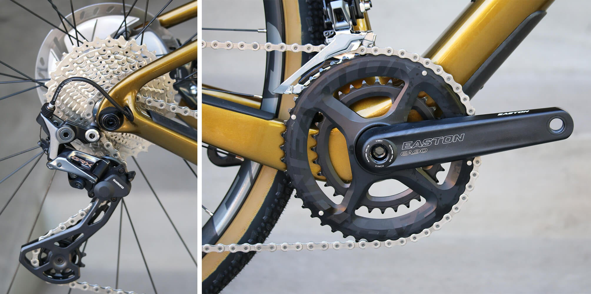 Shimano GRX Groupset - Contender Bicycles - Gearing