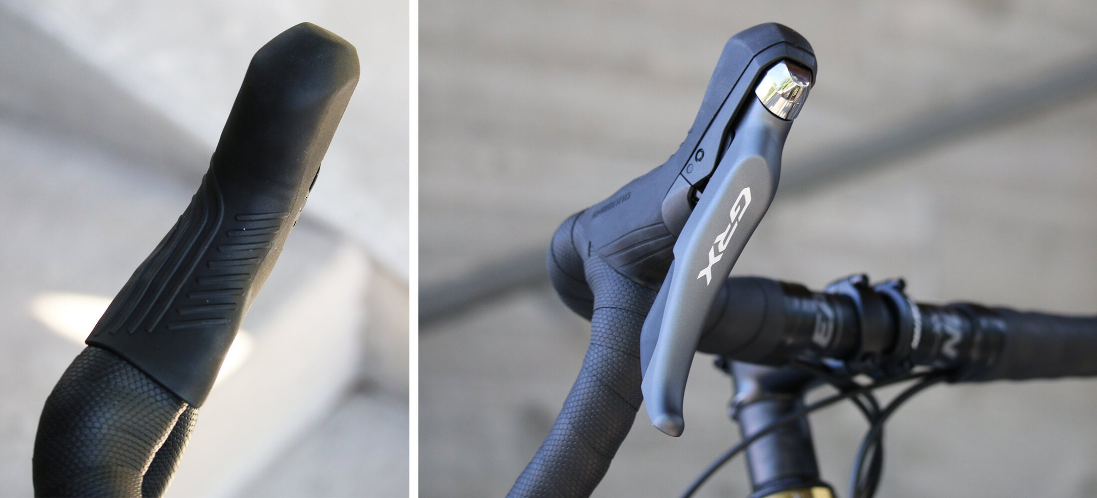Shimano GRX Groupset - Contender Bicycles - Shifters